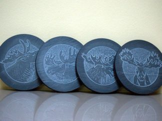 Canadian Moose,fantasy design,custom coaster set