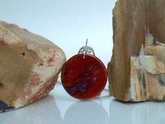 red Jasper pendant, necklace