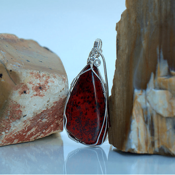 the stone of calmness red jasper