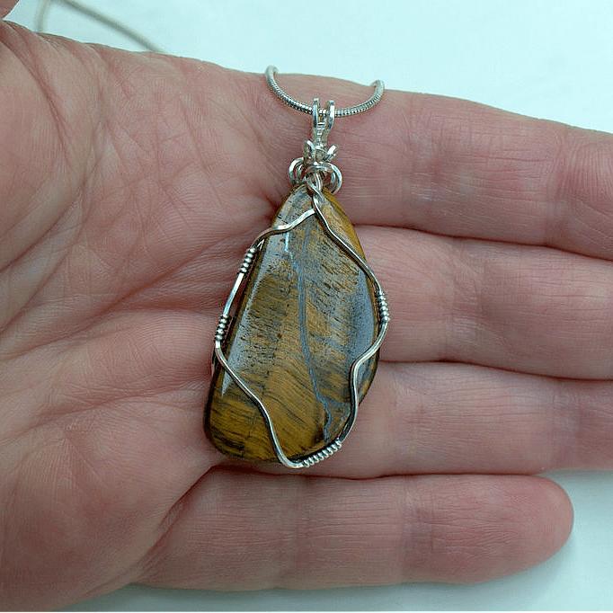 tiger eye handmade jewelry