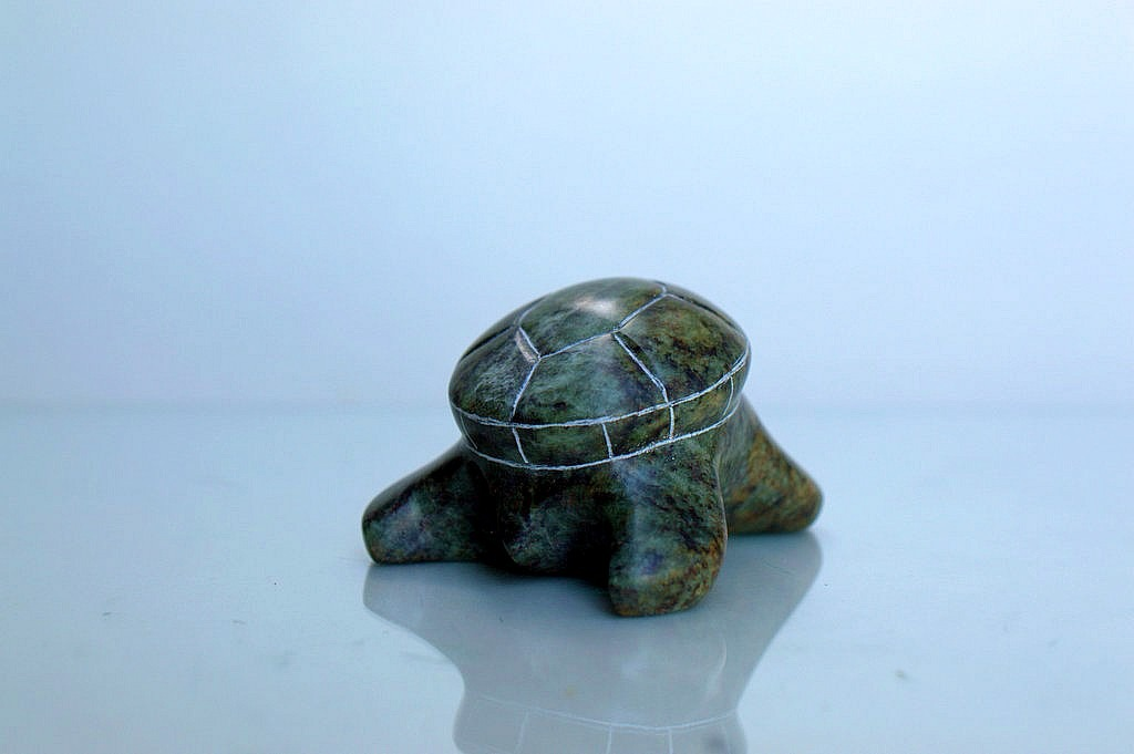 turtle stone carving
