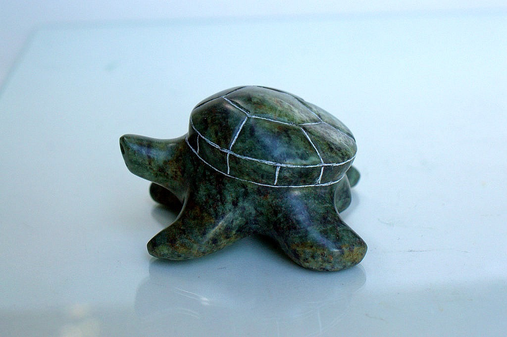stone turtle paperweight