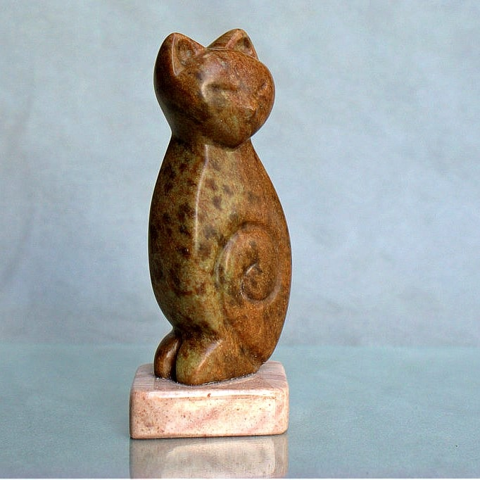 hand carved figurine