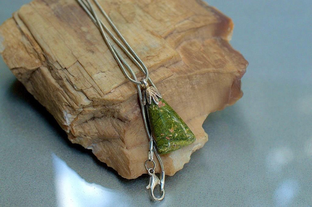 little gemstone pendant