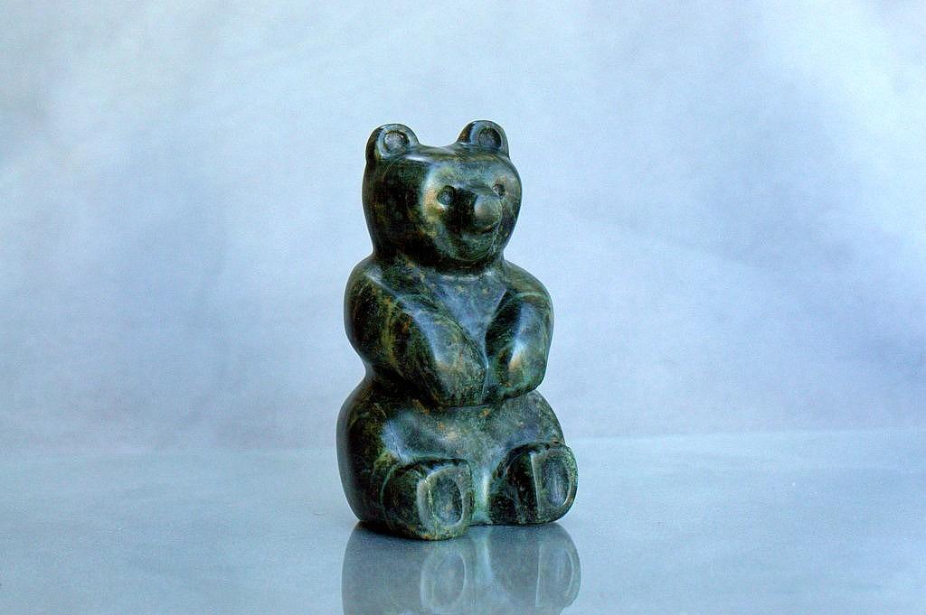 stone bear for gift