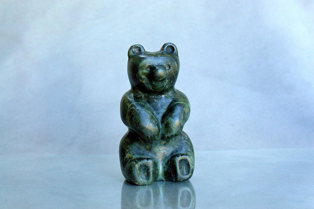custom bear carving