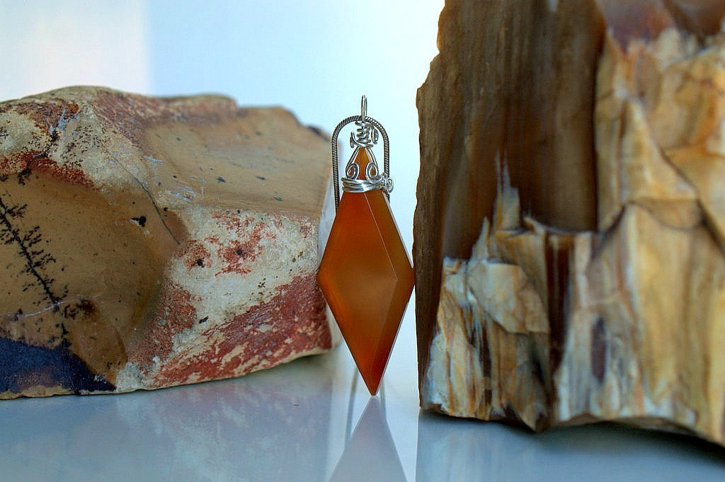 brown agate gemstone