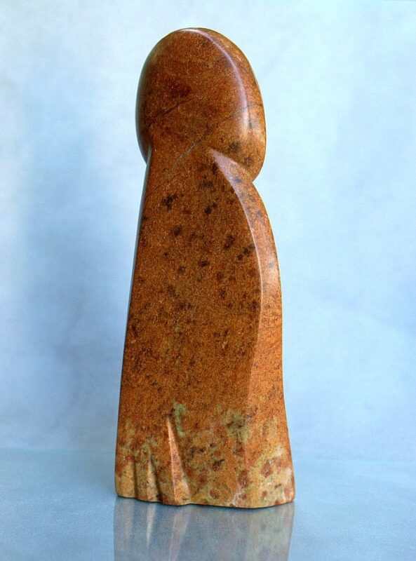 brown abstract carving