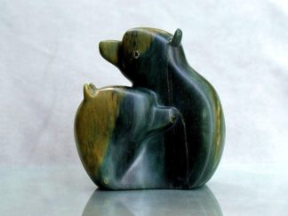 two bears sculpture