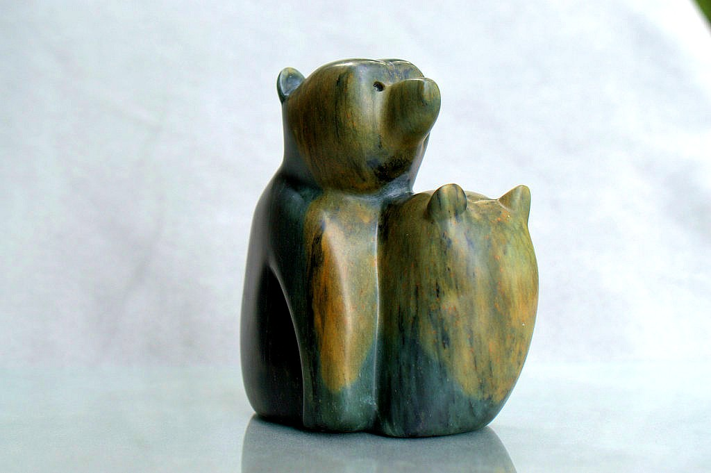 bears torso sculpture