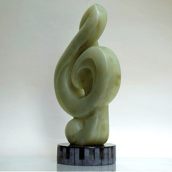 when the music's over sculpture