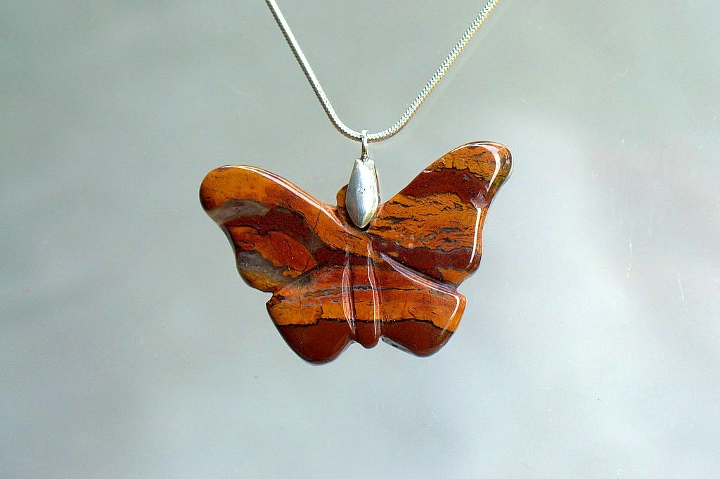 large butterfly pendant