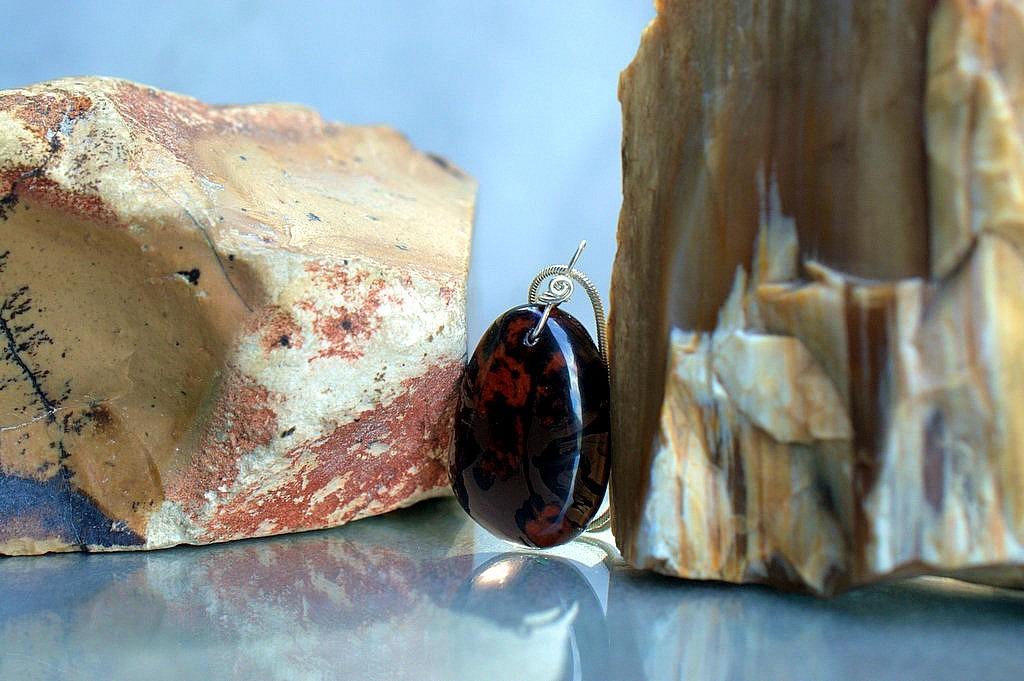 spiritual obsidian stone