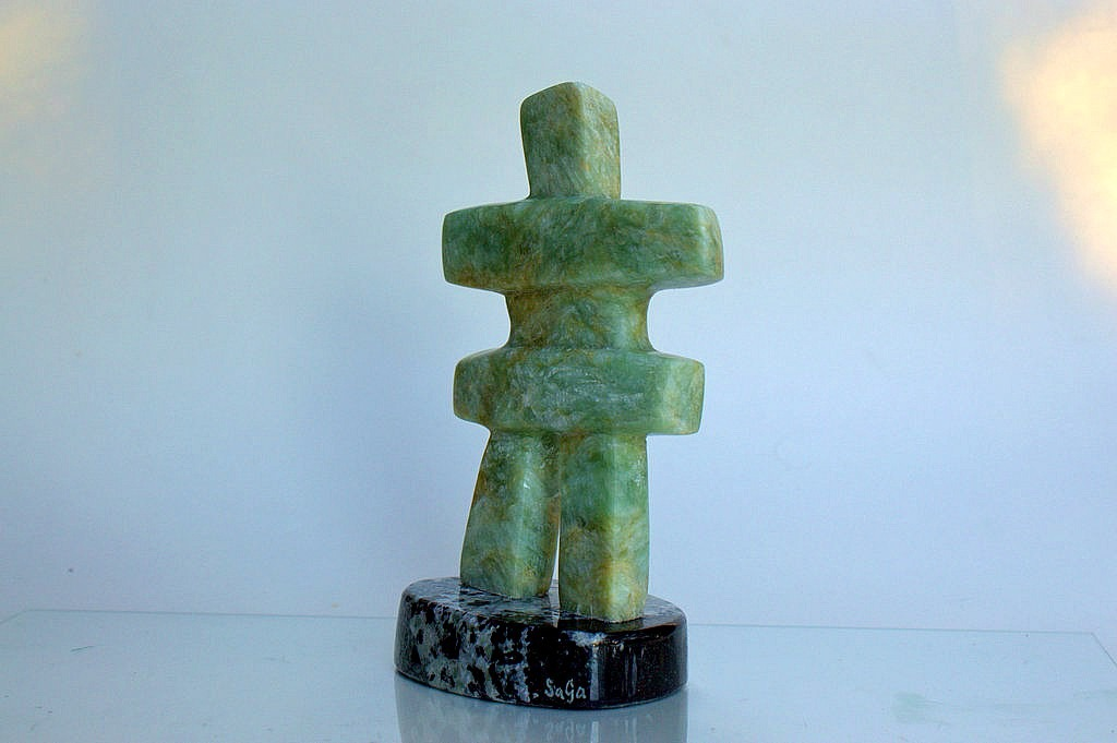 human stone figurine