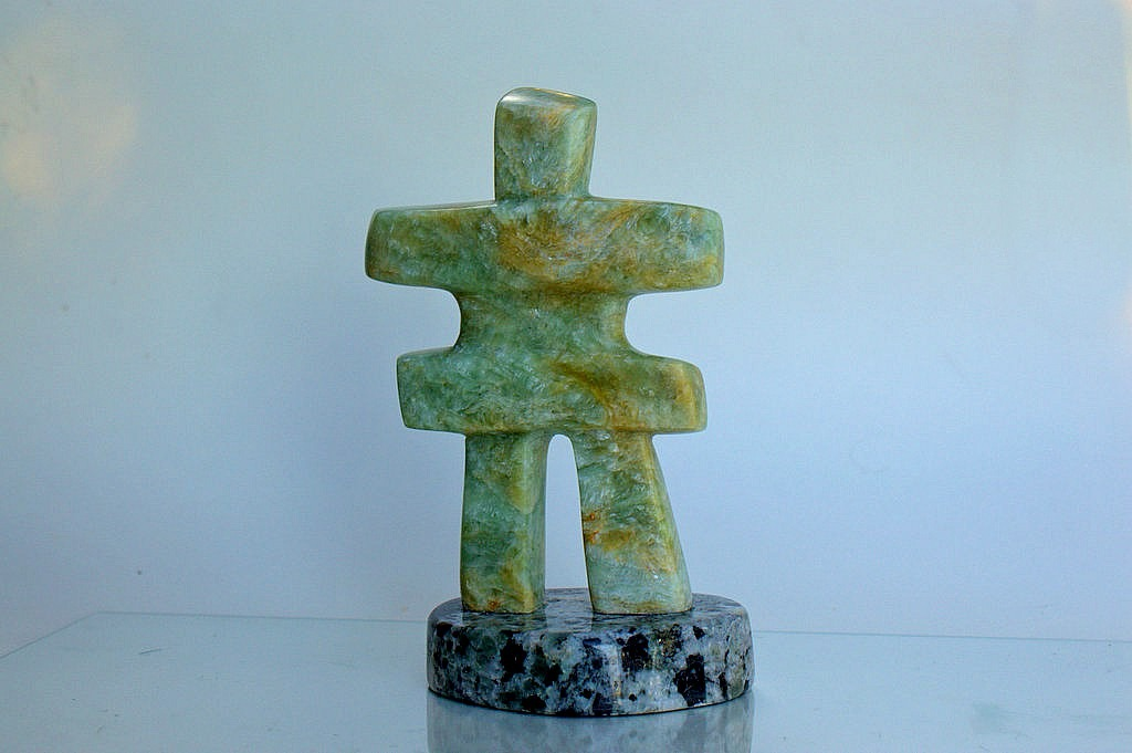 hand carved soapstone