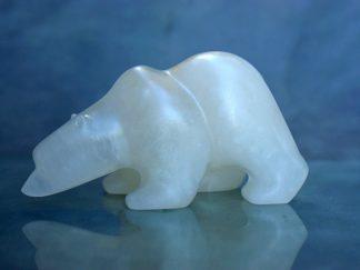 alabaster polar bear