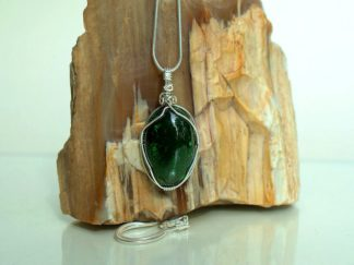 Small oval real Jade pendant